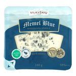Сир напівтвердий Vilkyskiu Memel Blue  з пліснявою 100г