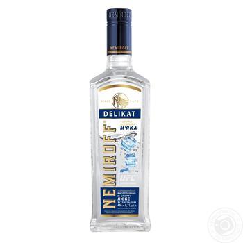 Nemiroff Delikat Soft Special Vodka 40% 0,7l - buy, prices for Auchan - image 3