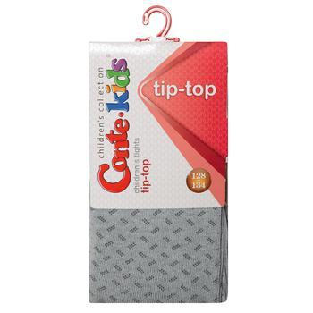 Колготы Conte Kids Tip-Top детские хлопковые светло-серые 128-134р