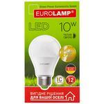 Лампа светодиодная Eurolamp LED A60 E27 10W 3000K