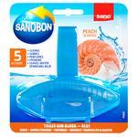 Sano Peach Toilet Block 55g