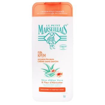 Le Petit Marseillais Shower Gel with Aloe Vera and Apricot Blossom 400ml - buy, prices for EKO Market - photo 1