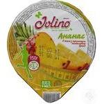 Десерт фруктовый Jolino Ананас в желе с ароматом миндального бренди 150г