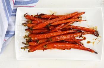 Морковь с корицей