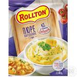 Rollton With Onion Instant Potato Puree 40g