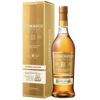 Виски Glenmorangie Nectar d'Or 12 лет 46% 0.7л - купить, цены на Фуршет - фото 1