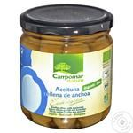 Campomar Nature Green Olives with Anchovies 350g