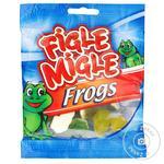 Цукерки жувальні Figle Migle Жабки 80г