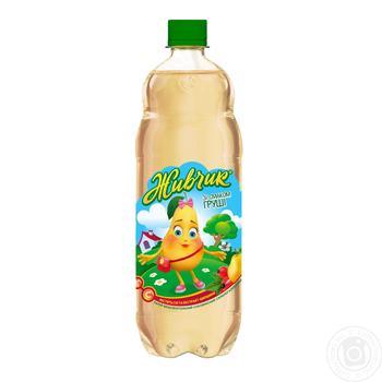 Напиток безалкогольный Живчик со вкусом груши сокосодержащий сильногазированный 2л - купить, цены на Novus - фото 2