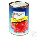 Томати Helcom нарізані очищені у власному соку 425мл