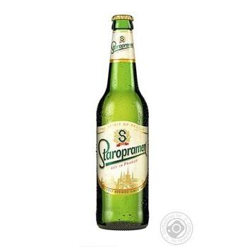 Пиво светлое Staropramen 4,0% 0,5л