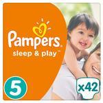 Подгузники Pampers Slee&Play 5 Junior 11-16кг 42шт - купить, цены на Novus - фото 1