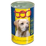 Teo Canned Food for Adult Dogs with Poultry 1250g