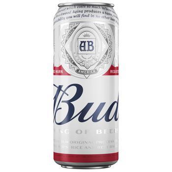 Bud Light Beer 4,8% 0,5l