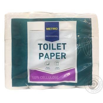 Бумага туалетная METRO Professional 2 слоя 24шт