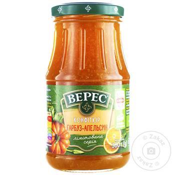 Конфитюр Верес тыква-апельсин 380г - купить, цены на МегаМаркет - фото 1