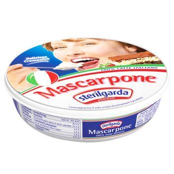 Сыр Sterilgarda Alimentari Маскарпоне 35% 250г - купить, цены на Фуршет - фото 1