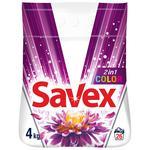 Powder detergent Savex 2in1 Color auto 4kg