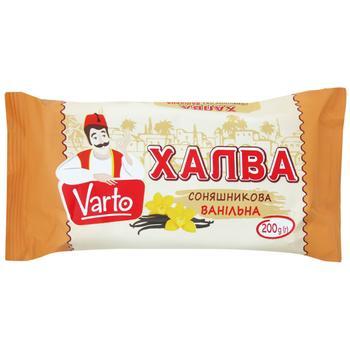 Varto Sunflower Vanilla Halvah 200g