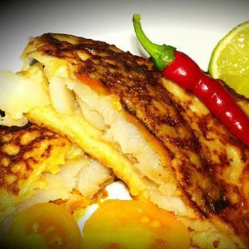 Риба по-мексиканськи в кукурудзяних млинцях