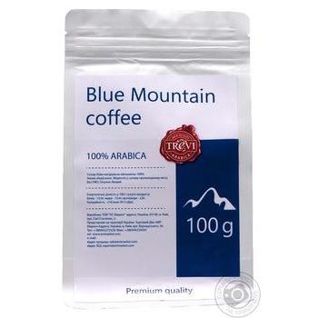 Кава в зернах Треві Арабіка Блю Маунтін 100г - купить, цены на Novus - фото 1