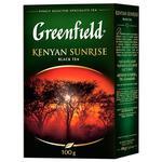 Greenfield Kenyan Sunrise Long Leaf Black Tea 100g