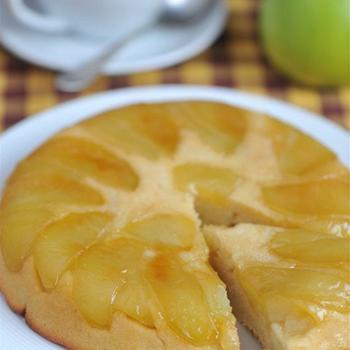 Тарт татен с яблоками из слоеного теста