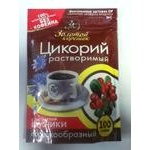 Instant drink mix Zolotoy koreshok with cranberries caffeine-free vacuum packaging 100g Russia