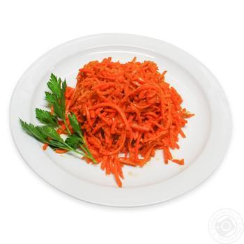 Морковь По-корейски - купить, цены на Фуршет - фото 1