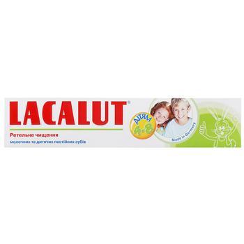 Зубна паста Lacalut дитяча 4-8 років 50мл