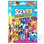 Scentos 40722 Scented Marker Set 24pcs