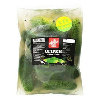Vegetables cucumber Chudova marka salt 525g - buy, prices for Furshet - image 1