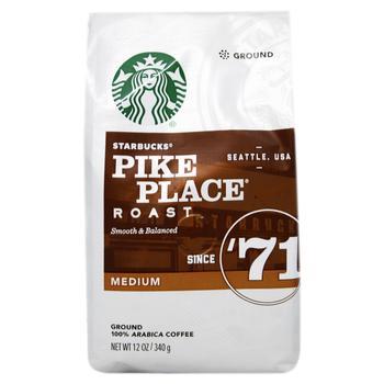 Кофе Starbucks Pike Place молотый средней обжарки 340г