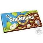 ORION® Studentská milk chocolate with peanuts, jelly and pear pieces 180g