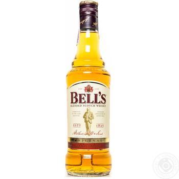 Виски Bells Original 40% 0,5л - купить, цены на Фуршет - фото 1