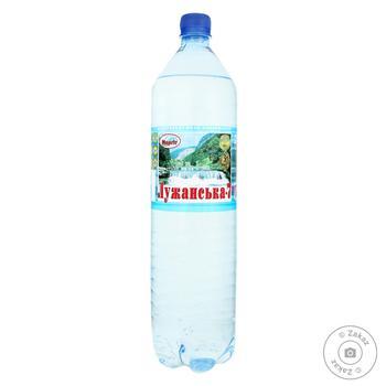 Вода Лужанская №7 газированная 1,5л - купить, цены на Фуршет - фото 1