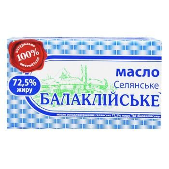 Масло Балаклійське селянське 72,5% 200г - купити, ціни на Восторг - фото 2