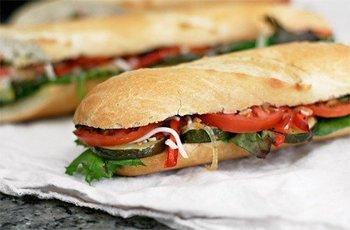 Сэндвич с баклажанами