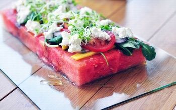 Салат из арбуза