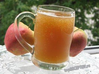 Квас яблочный