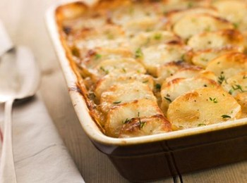 Запеченный картофель по‑французски