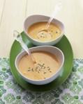 Крем-суп із кольорової капусти з чеддером і кропом