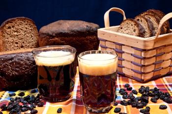 Хлібний квас із дріжджами