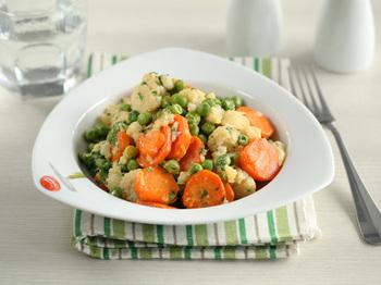 Легкий гарнир из овощей