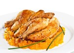 Курица в соусе барбекю с абрикосовым джемом