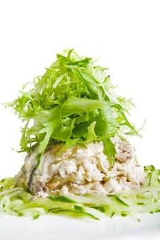 Салат «Праздничный» с рыбой