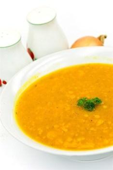 Тыквенно-картофельный суп со сливками