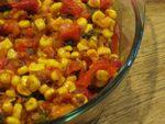 Сладкий перец с кукурузой