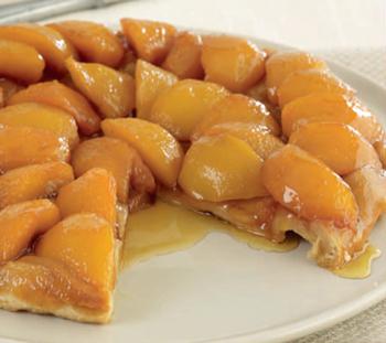 Персиковий тарт татен