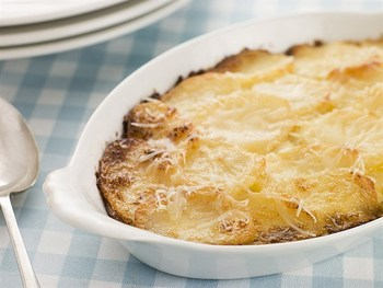 Картопляна запіканка з сиром